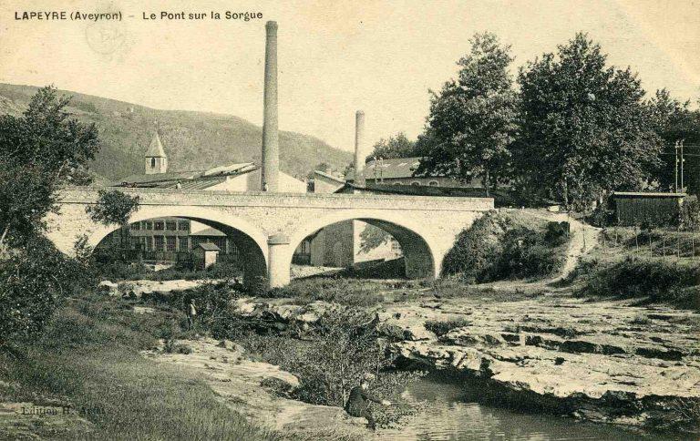 Pont sur la Sorgue Lapeyre