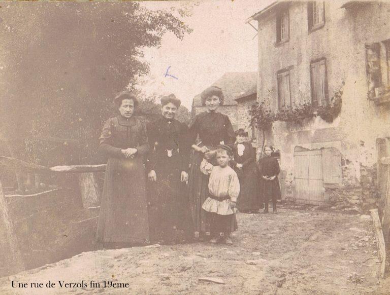 Rue de Verzols fin 19eme X