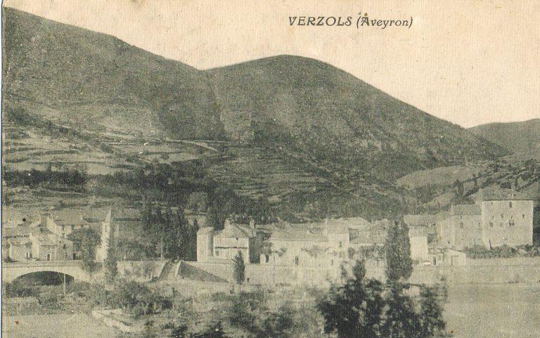 Vue de verzols 1900