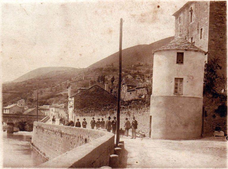 Quai de Versols novembre 1904