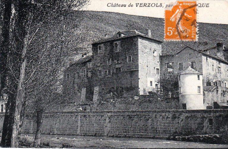 Château de Versols 1922