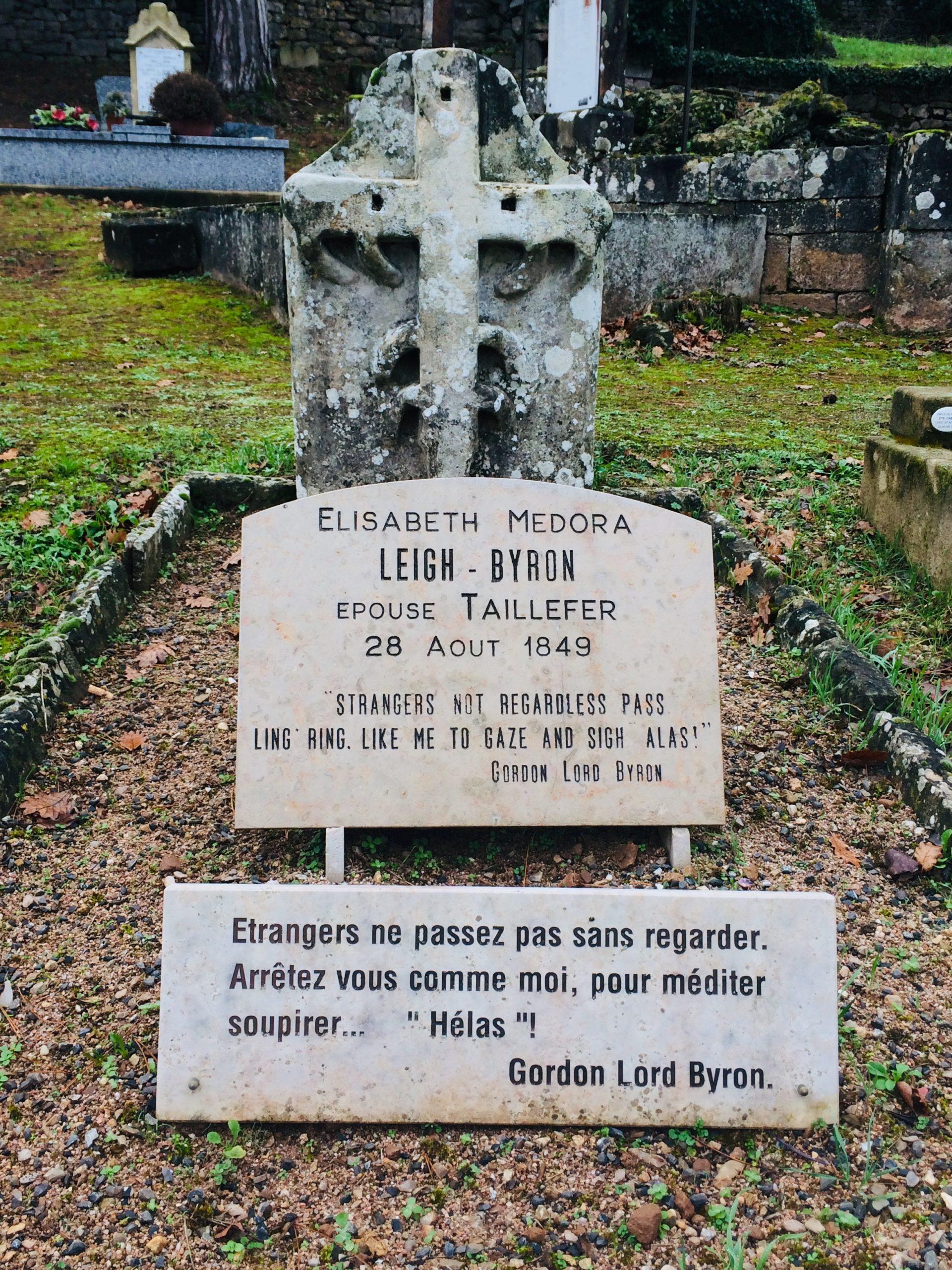 Tombe de Médora Leigh-Byron