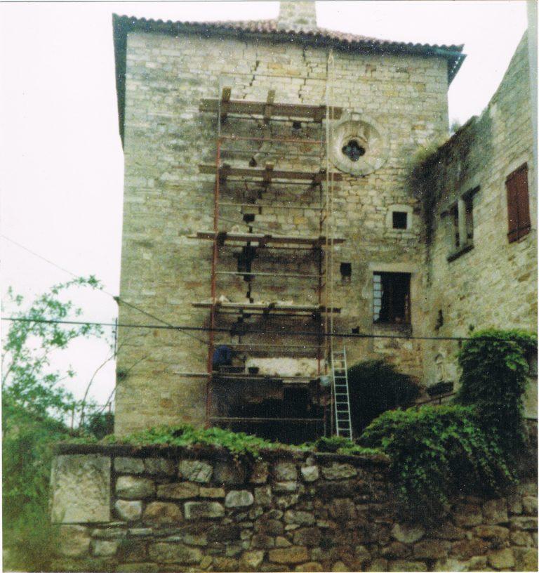 Réfection du château de Versols